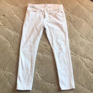 Frame denim white jeans